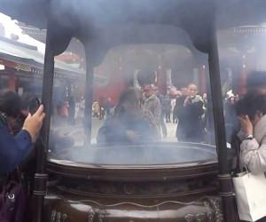 浅草寺の大香炉